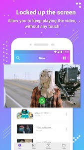 screenshot of Video Player version 1.0