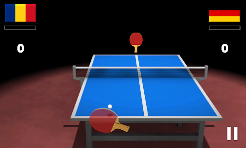 screenshot of Virtual Table Tennis 3D version 2.7.10