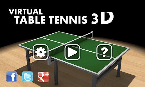 Download Virtual Table Tennis 3D 2.7.10 APK