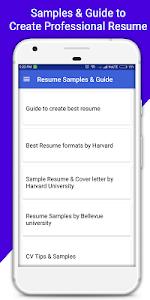 download resume builder pro 3 min free cv maker templates 34 apk