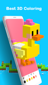 screenshot of Voxel - 3D Color by Number & Pixel Coloring Book version 2.8.1