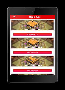 Download War Clash of Clans Maps 2017 0.0.9 APK