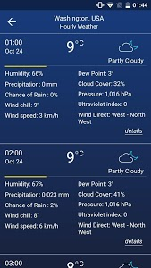 screenshot of Weather forecast version 12.12.20.15