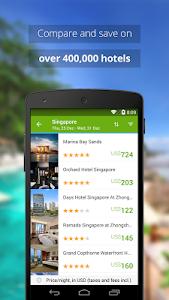 screenshot of Wego Flights & Hotels version 3.1.0