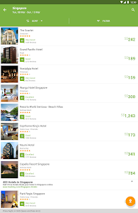 screenshot of Wego Flights & Hotels version 5.0.5