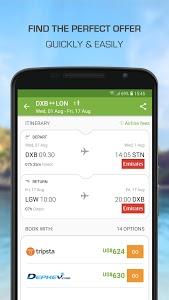 screenshot of Wego Flights & Hotels version 5.7.2