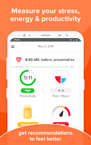 Download Welltory: quantified self stress traсker - HRV 2.3.0 APK
