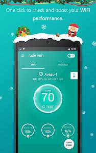 screenshot of Swift WiFi - Free Shared WiFi version 2.3.124.5228