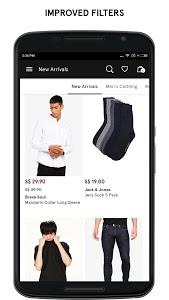 screenshot of ZALORA Fashion Shopping version 6.12.0