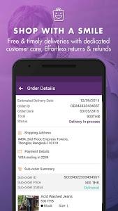 screenshot of Zilingo Shopping version 0.8.0