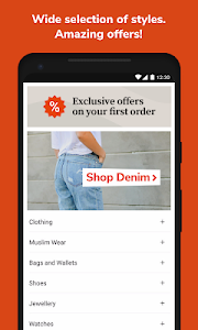 screenshot of Zilingo Shopping version 1.8.3