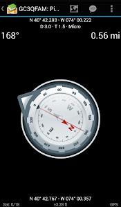 screenshot of c:geo version 2018.10.13