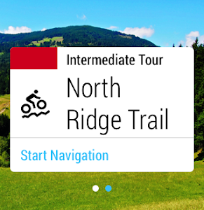 screenshot of Komoot — Cycling & Hiking Maps version Varies with device