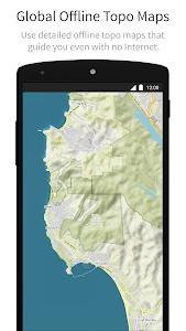 screenshot of komoot — Hike & Bike GPS Maps version Varies with device