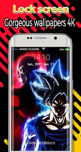 Download new Goku lockscreen themes dragon super ball 2018 1.0 APK