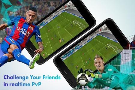 screenshot of PES 18 version 1.1