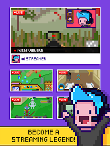 screenshot of xStreamer - Livestream Simulator Clicker Game version 1.0.7